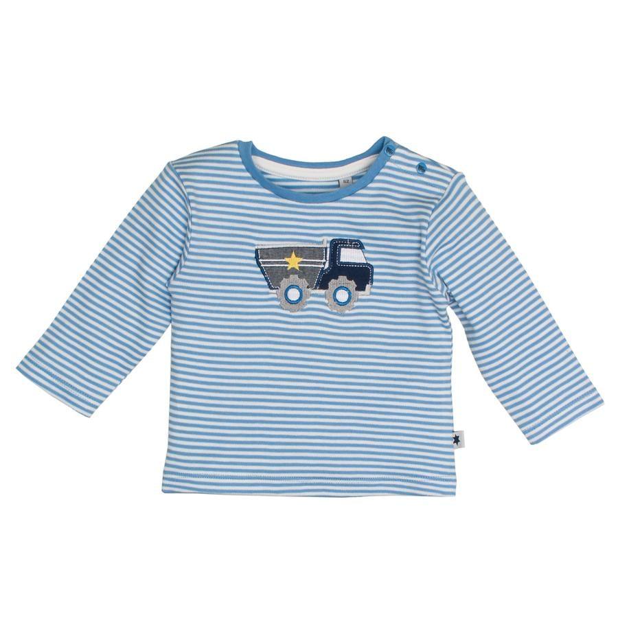SALT AND PEPPER Koszulka z długim rękawem Zabawa Time Baby Blue