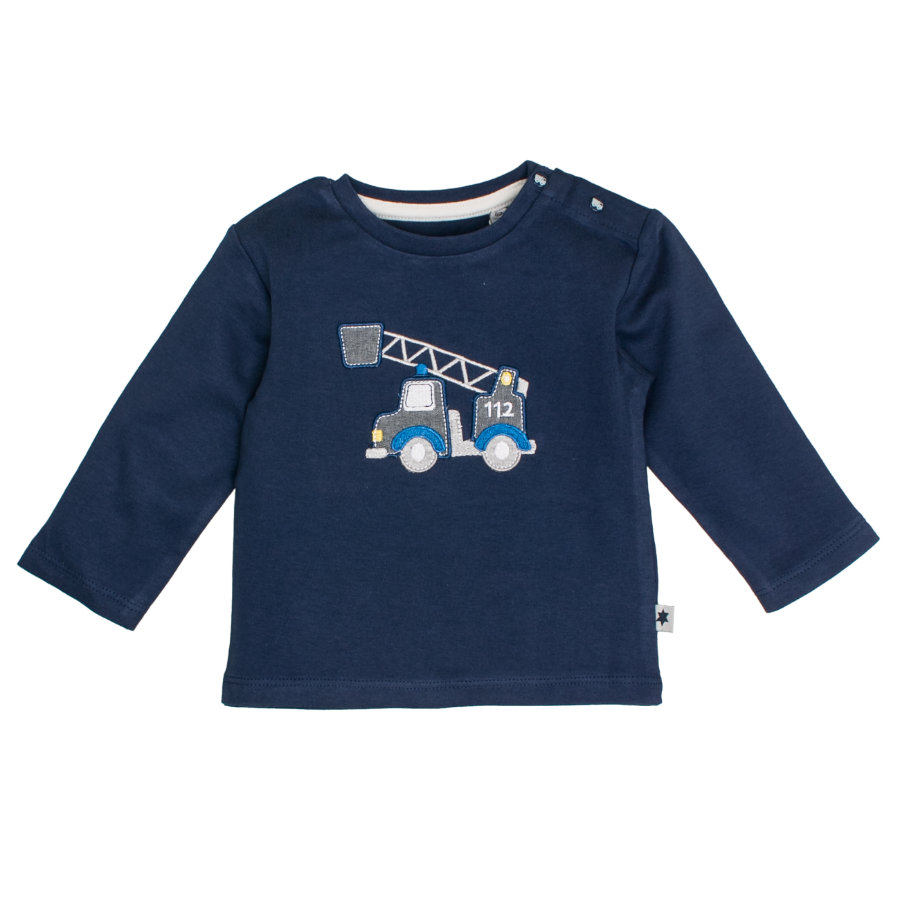SALT AND PEPPER Langarmshirt Fun Time Kranwagen