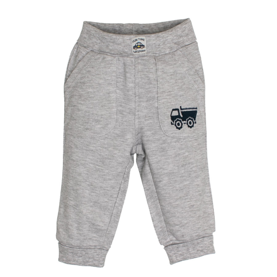 SALT AND PEPPER Boys Pantalon de survêtement Fun Time gris mélangé