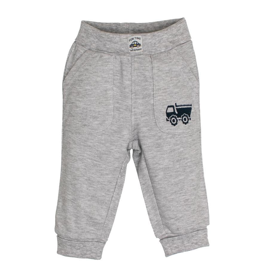 SALT AND PEPPER Boys Pantalones de chándal Fun Time gris mélange