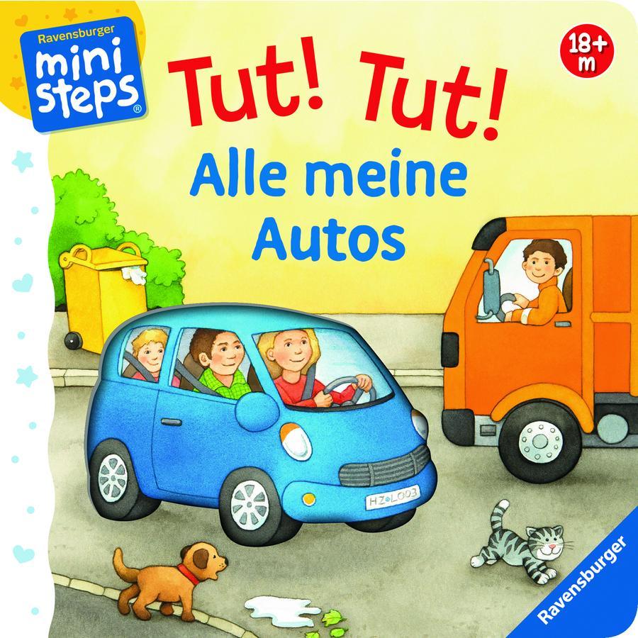 Ravensburger ministeps® - Tut! Tut! Alle meine Autos