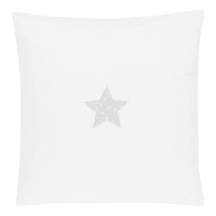 Babybay Sengetøj med stjernemotiv grå 80 x 80 cm