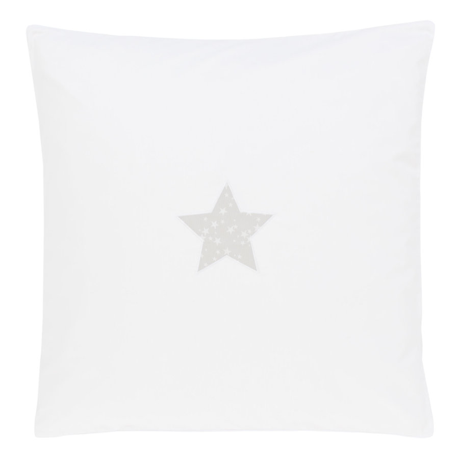 babybay Copripiumino Stella grigio perla 80 x 80 cm