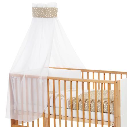 babybay Sänghimmel Krona/hjärta 200 x 135 cm