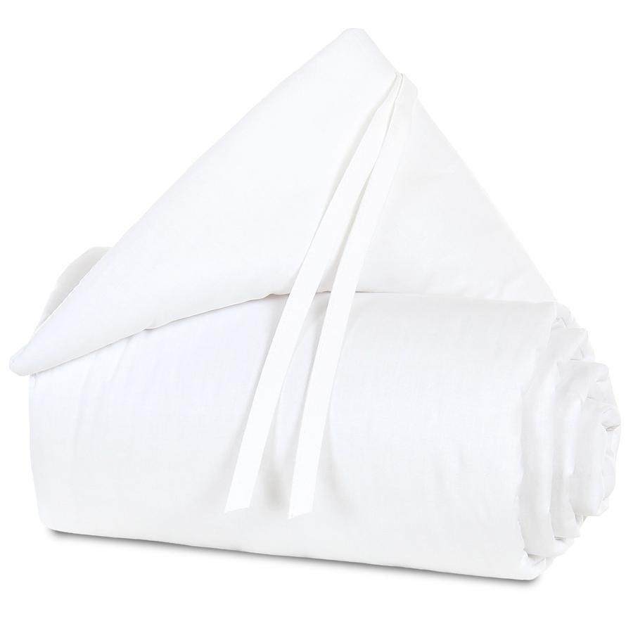 Acolchado protector babybay mini/medio blanco