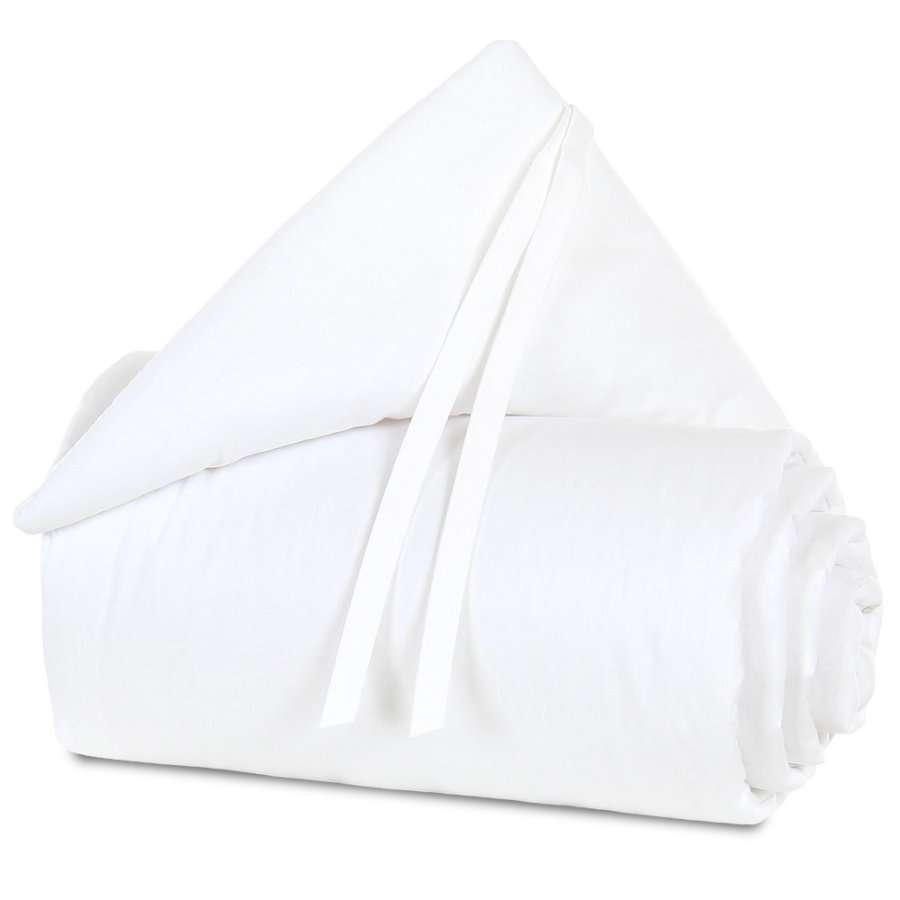 babybay® hnízdečko Organic Cotton Original bílá/bílá 149 x 25 cm