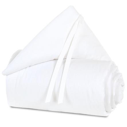 babybay Nestchen Organic Cotton Maxi weiß/weiß 168 x 24 cm
