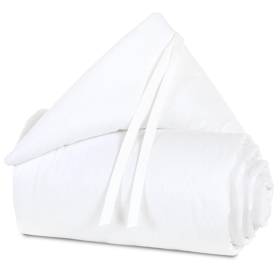 babybay hnízdečko Organic Cotton Maxi bílá/bílá 168 x 24 cm
