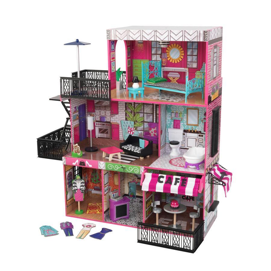 KIDKRAFT Domeček pro panenky Brooklyn´s loft