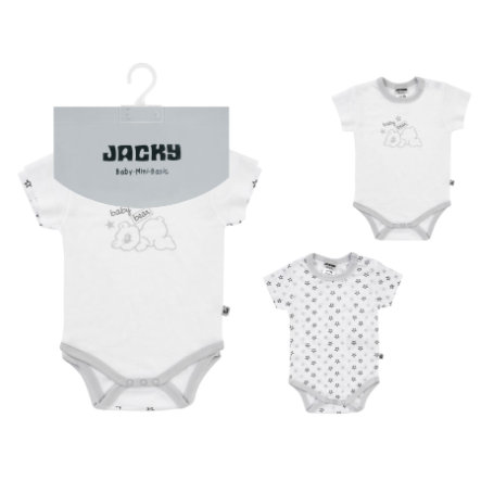 JACKY Corps manches courtes 2 paquets TENCEL