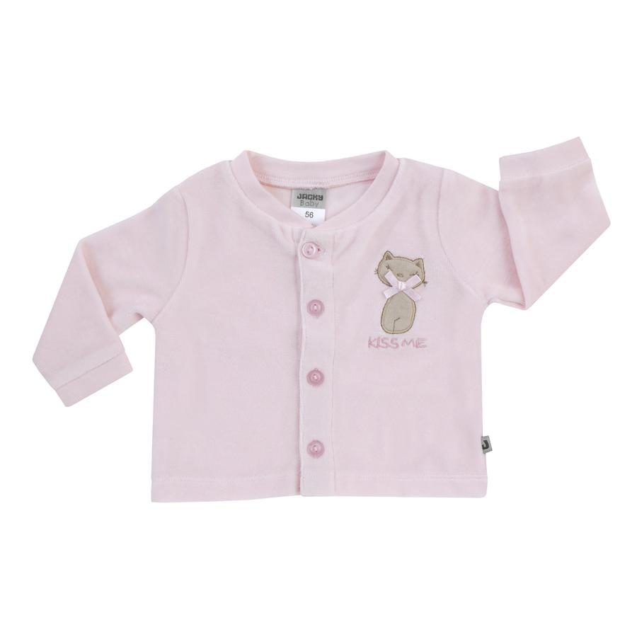 JACKY Nicki-Jacket BASIC LINE BASIC LINE roze kat