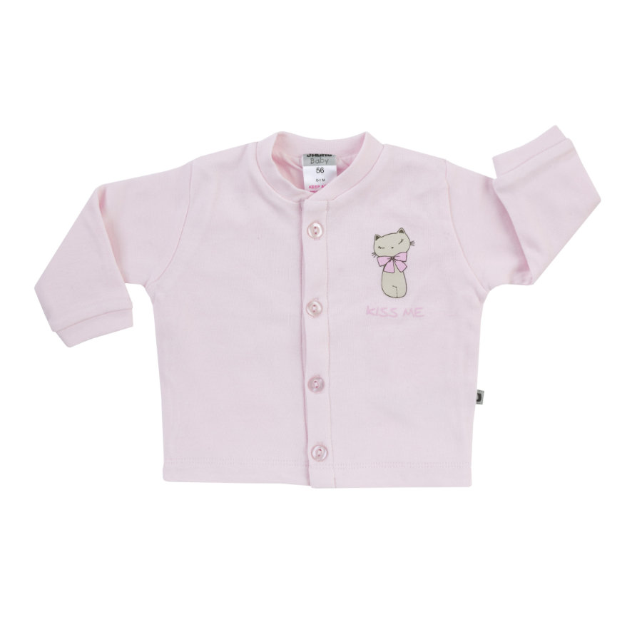 JACKY Veste BASIC LINE rose chaton
