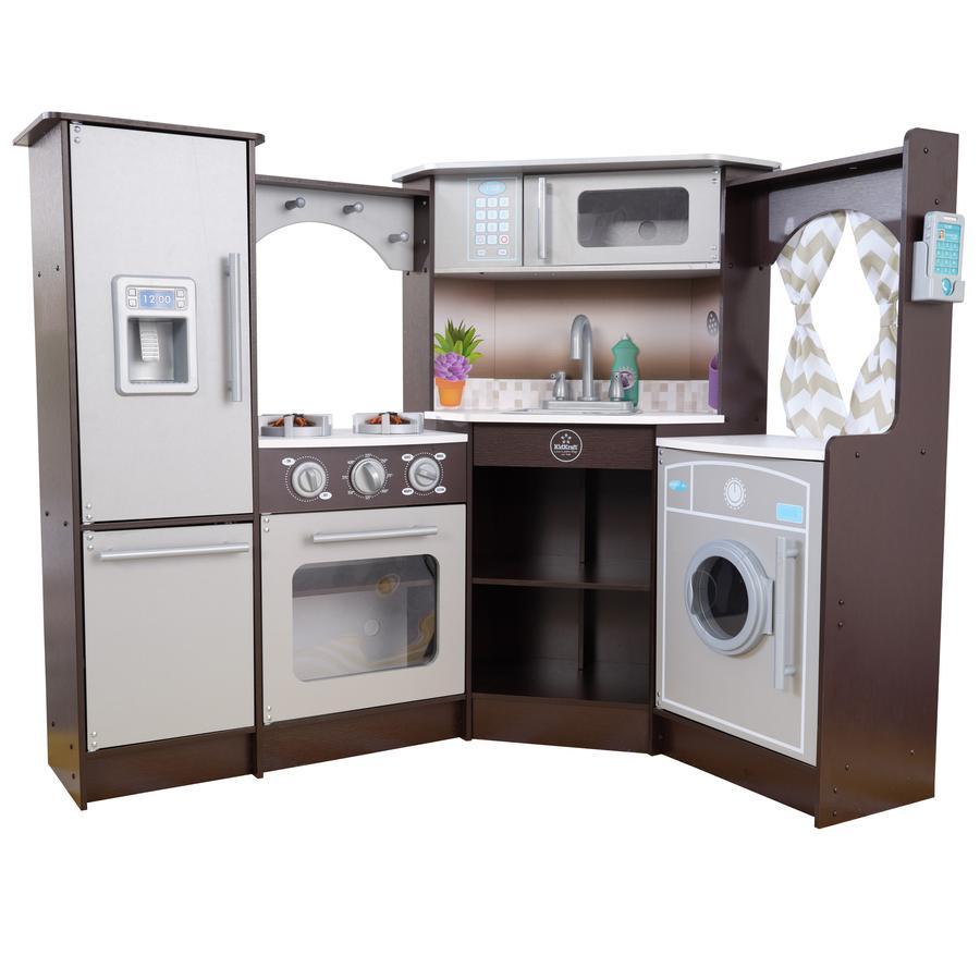 Kidkraft® Cuisine enfant complète bois, sons et lumières 53365