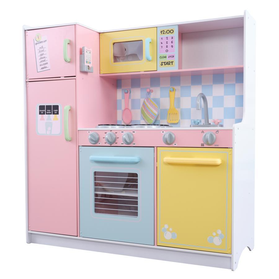 Kidkraft® Cucina grande in colori pastello
