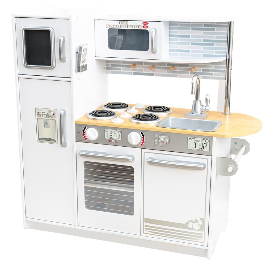 Kidkraft cucina giocattolo uptown in legno bianca - Cucina in legno per bambini ikea ...