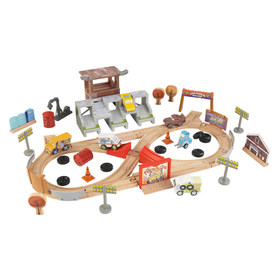 Set Circuito Thunder Hollow 50 pezzi  Disney® Pixar Cars 3 by KidKraft