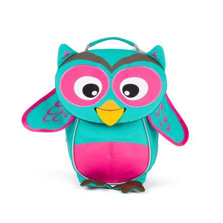 Affenzahn batoh Olivia Owl - Turquoise/Magenta 4 L