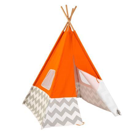 Kidkraft® Tenda dei pellerossa arancione