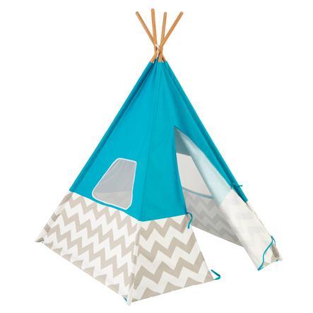 Kidkraft® Tenda dei pellerossa azzurra