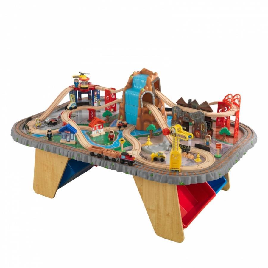 Kidkraft® Wasserfall Eisenbahntisch & Spielset  -