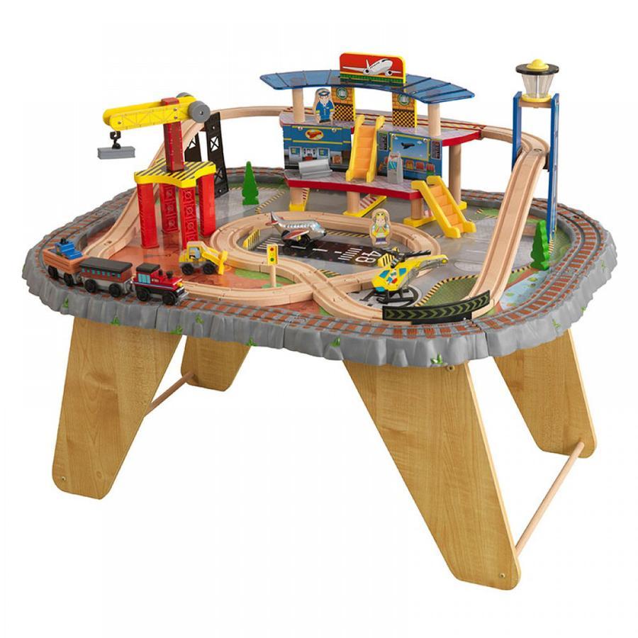 Kidkraft® Transportstation Eisenbahnset & Spielplatte