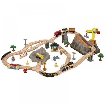 Kidkraft® Set ferrovia in legno