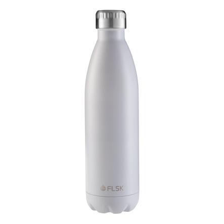FLSK® Trinkflasche WHTE 750 ml