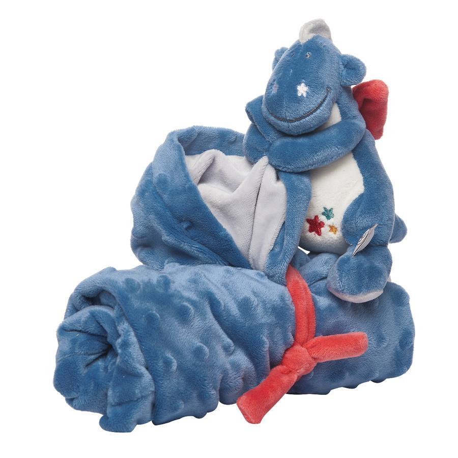 noukie´s meine erste Decke Victor blau 50 x 50 cm