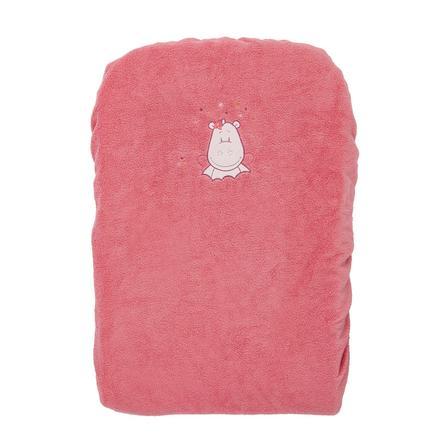 noukie´s Przewijak z pokrowcem Mia & Victoria Frottee 60 x 30 cm różowy