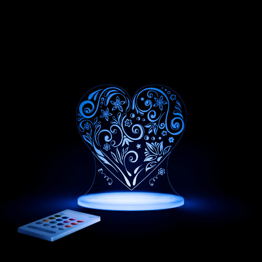aloka Lampe veilleuse SleepyLights Coeur