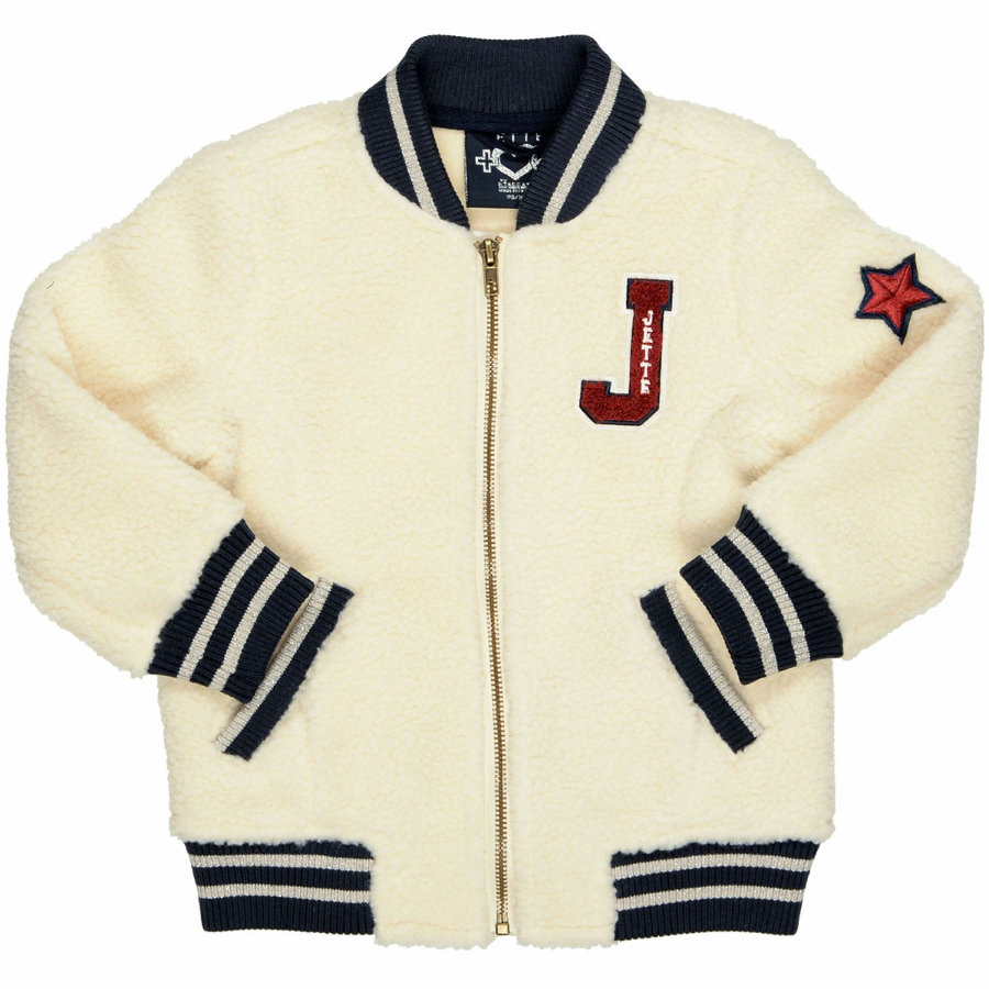 JETTE by STACCATO Girls Teddyjacke offwhite