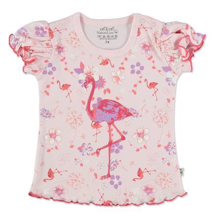 EBI & EBI Fairtrade Flamingo rose flamant T-Shirt rose