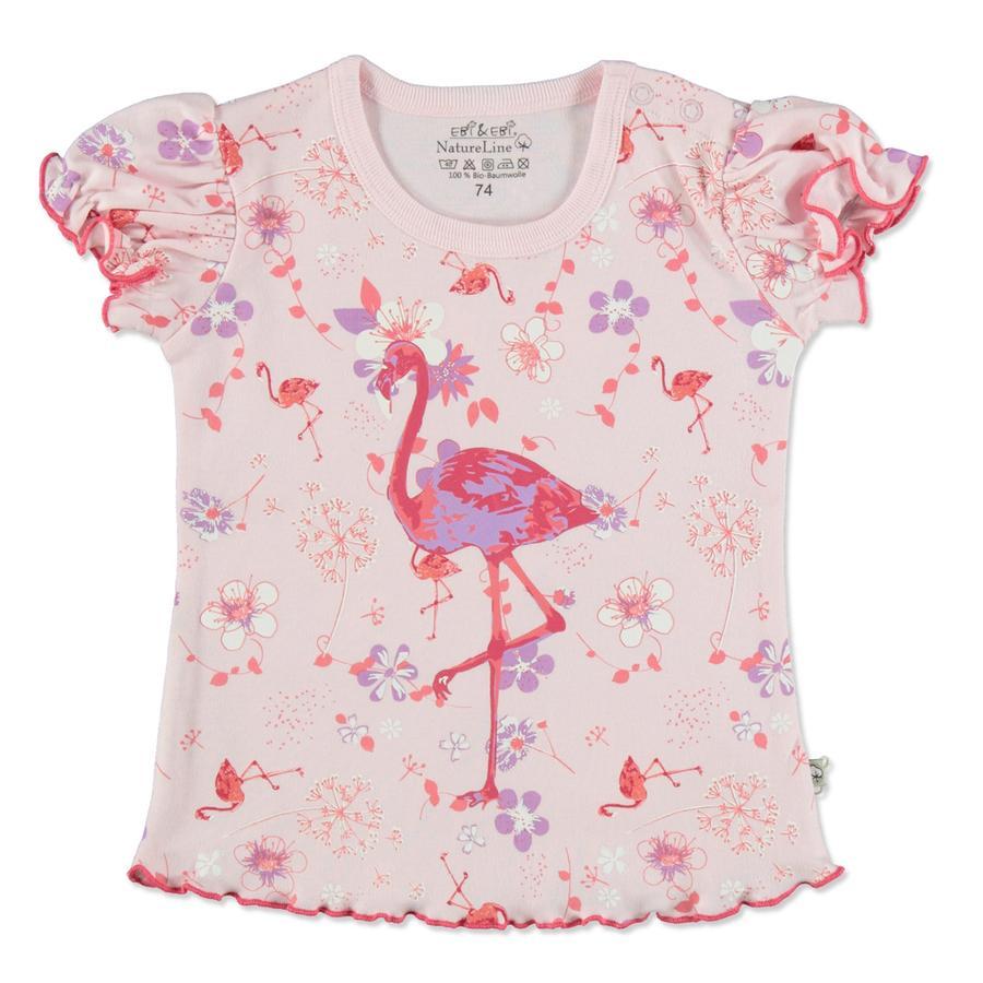 EBI & EBI Fairtrade Tričko Flamingo pink