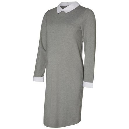 MAMA LICIOUS Těhotenské šaty MLCINDY Medium Grey Melange