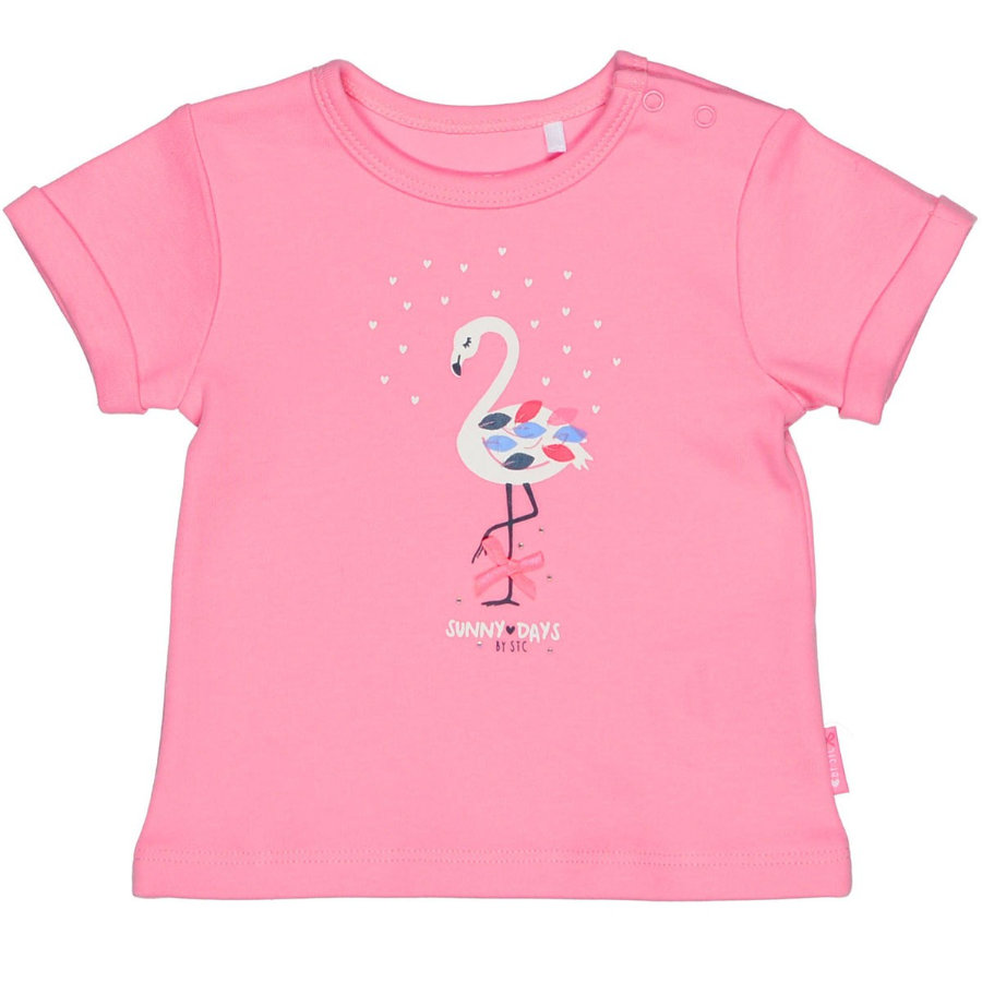STACCATO Girl s T-Shirt w donkere roos