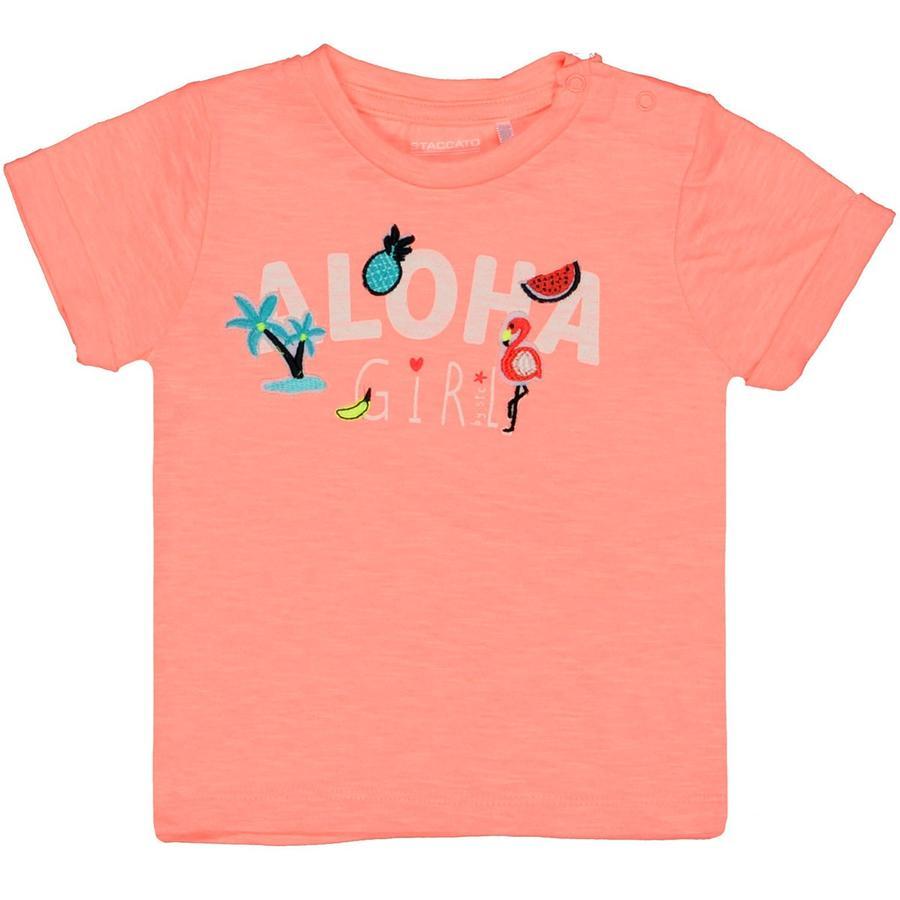 STACCATO Girl s T-Shirt neon caramella