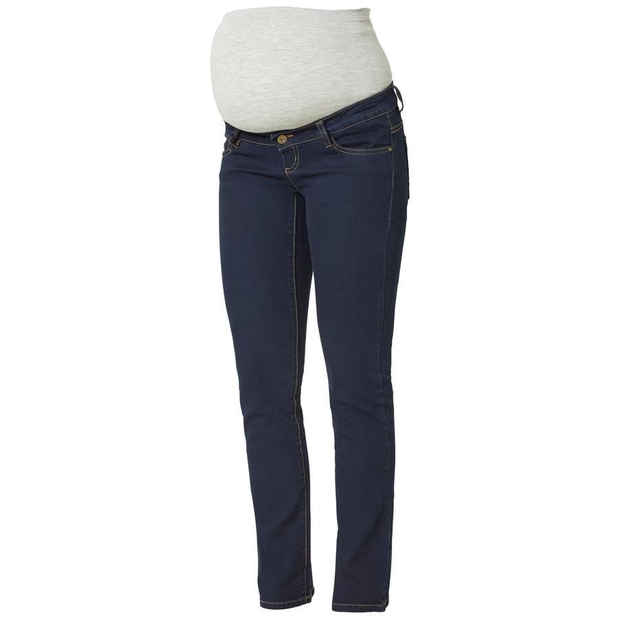 mama licious moderskap jeans MLTABBY Dark Blue Denim