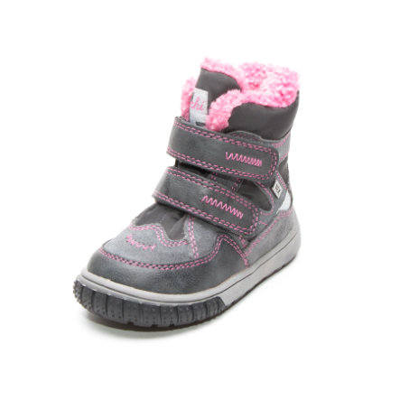 Lurchi Girl s Bottes enfants Jaufen-Tex gris rose (moyen)