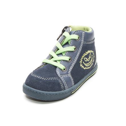 Lurchi poikienin matalat kengät Bingi navy (keskivihreä