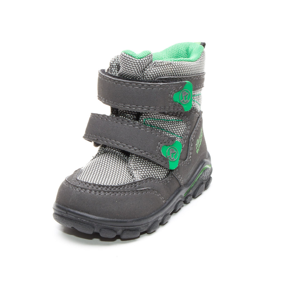 Lurchi Boys Kinderstiefel Klausi grey green (weit)