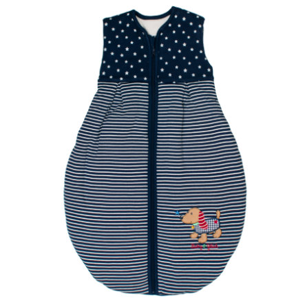 SALT AND PEPPER BabyGlück Schlafsack Dackel navy blue
