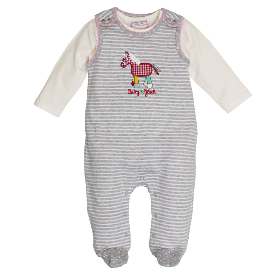 SALT AND PEPPER Baby Glück Spieler Pony grau