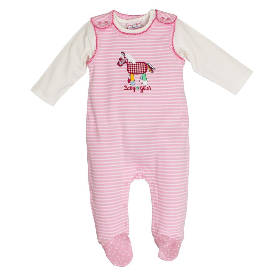 SALT AND PEPPER Baby geluksspeler Pony roze