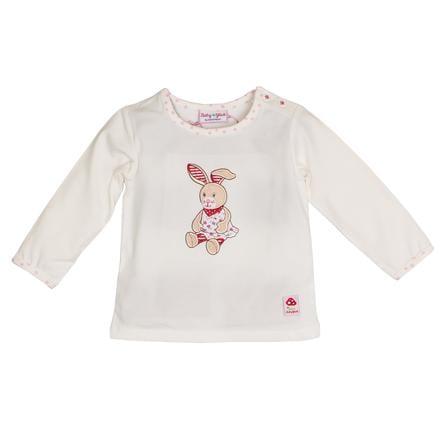 SALT AND PEPPER Shirt met lange mouw voor baby's Gelukshirt Konijn gebroken wit