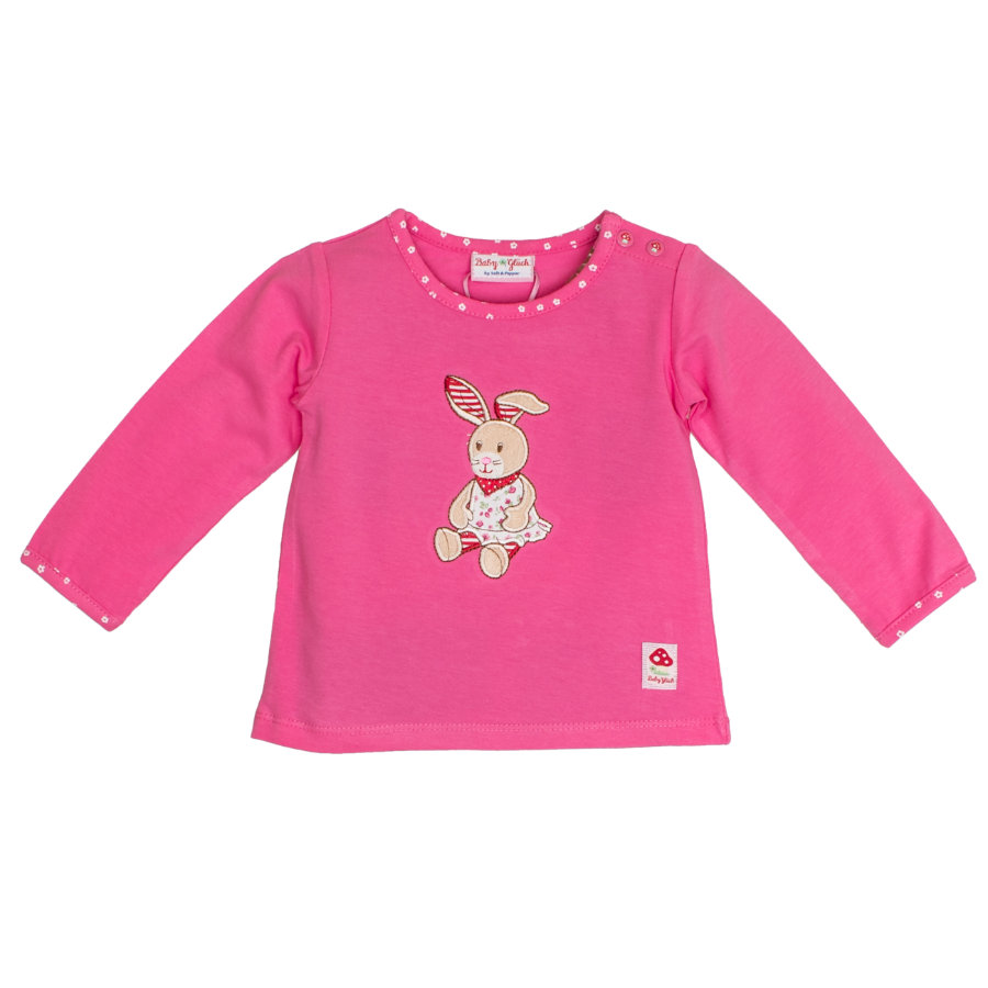 SALT AND PEPPER Chemise manches longues Baby luck Girl s lapin rose
