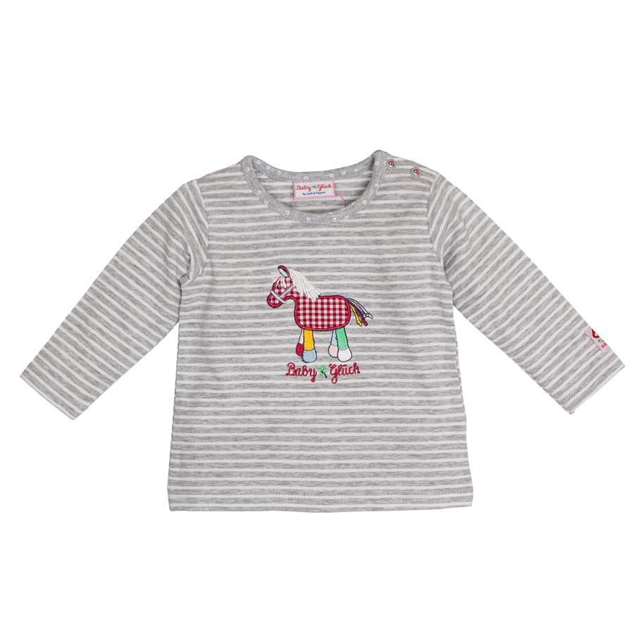 SALT AND PEPPER Baby Glück Bluzka z długim rekawem Pony grey