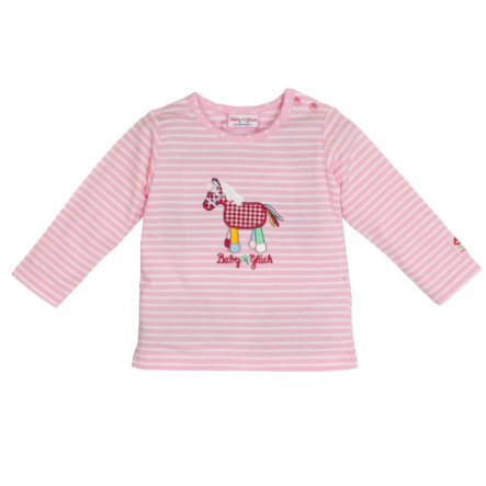 SALT AND PEPPER Baby Glück Langarmshirt Pony rosa
