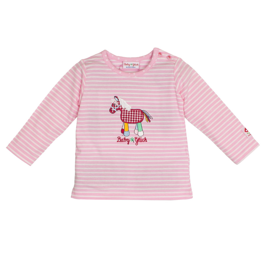 SALT AND PEPPER Chemise à manches longues Baby Luck Pony rose