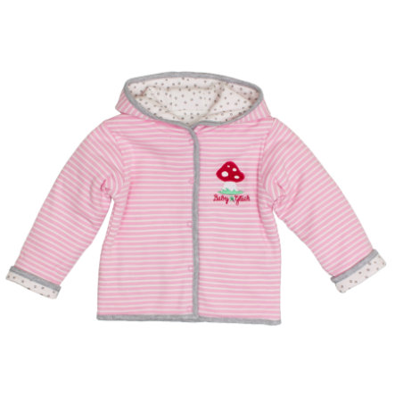 SALT AND PEPPER Baby Glück Wendejacke rosa