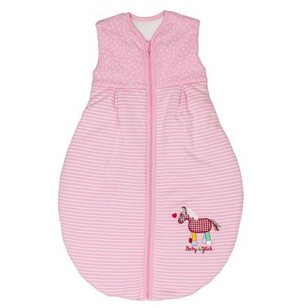 SALT AND PEPPER Baby Glück Schlafsack Pony rosa